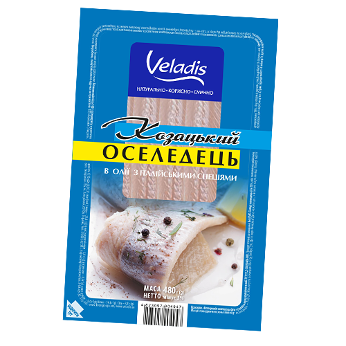 Cossack Herring in oil with Italian spices
